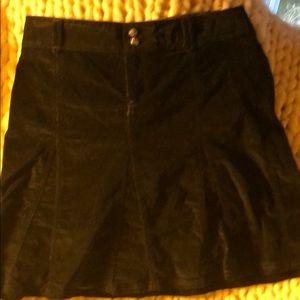 Athleta cord skirt